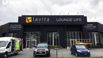 Lavita Furniture Dandenong Sign