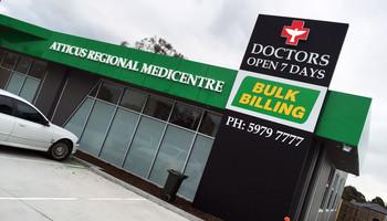 3 D Medical Clinic Logo