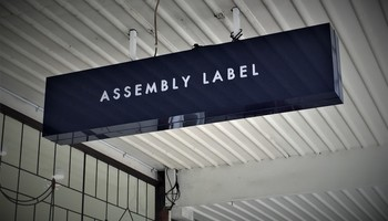 Led Lightbox Assembly Label