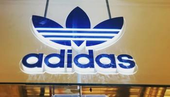 Led Adidas Logo