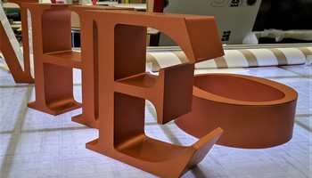 Fab Acrylic 100Mm Bronze Copper Finish