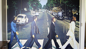 Beatles Wall Image