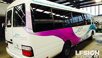 Corporate Bus Graphics