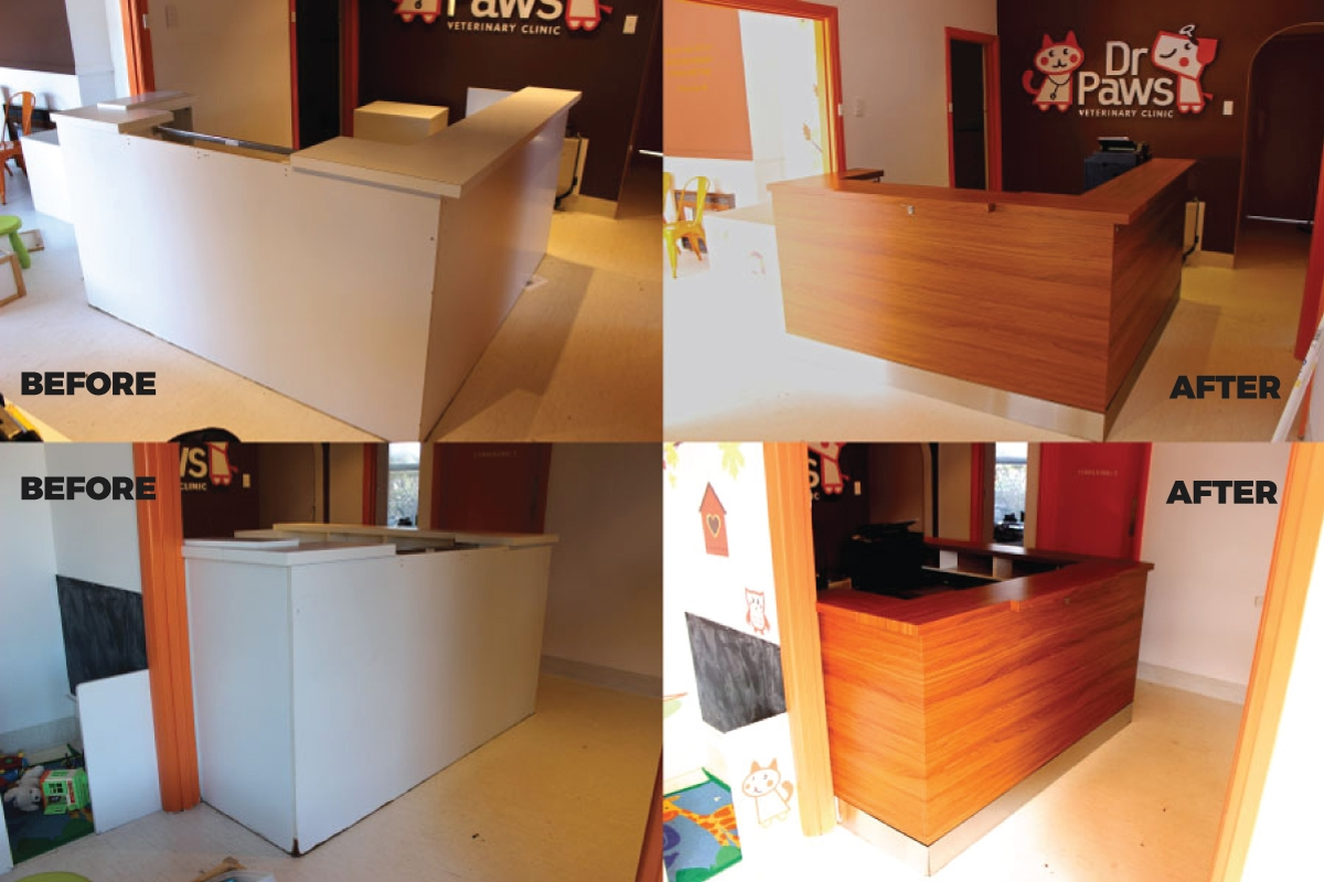 Furniture Amp Interior Wraps For Offices Amp Receptions Melbourne